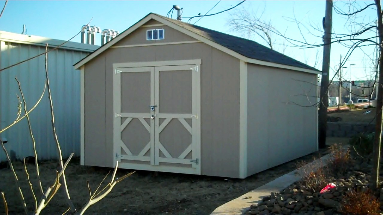Storage barns in arkansas firewood storage shed for Garden sheds built on site